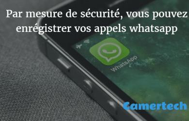 Il ya plusieurs enregistreurs disponibles sur le marché qui vous permet d'enregistrer des appels WhatsApp. Nous allons discuter de certains des meilleurs enregistreurs d'appel WhatsApp.