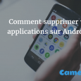 Désinstaller les applications