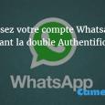 Vérification en deux étapes sur Whatsapp