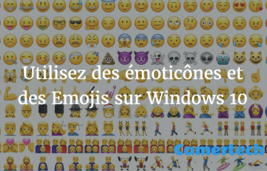 Emoji dans Windows 10