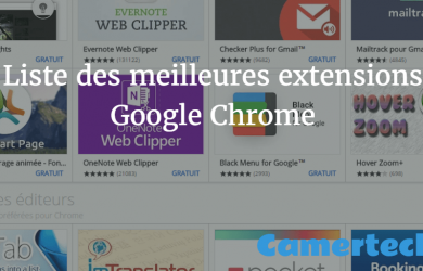 meilleures extensions Google Chrome