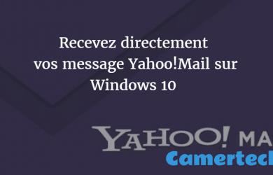 ajouter un compte Yahoo Mail !