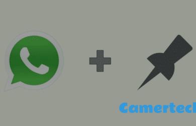 épingler une discussion Whatsapp