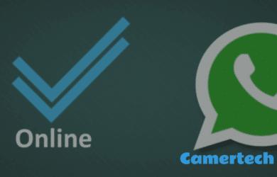 cacher le statut en ligne sur Whatsapp
